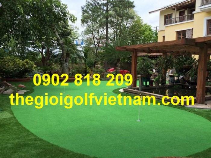 Cỏ golf trang trí,trải sàn, cỏ golf nhân tạo1
