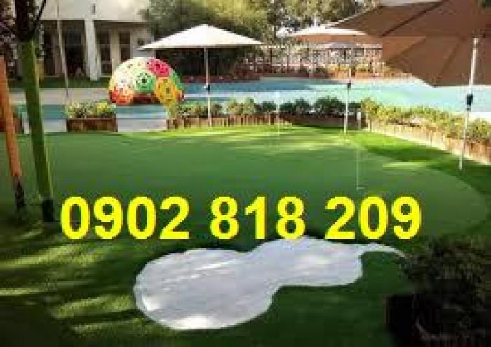 Cỏ golf trang trí,trải sàn, cỏ golf nhân tạo3