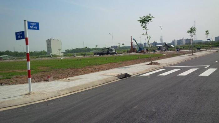 Bán đất thổ cư mặt tiền Quốc lộ 1A, sổ đỏ, giá tốt F1