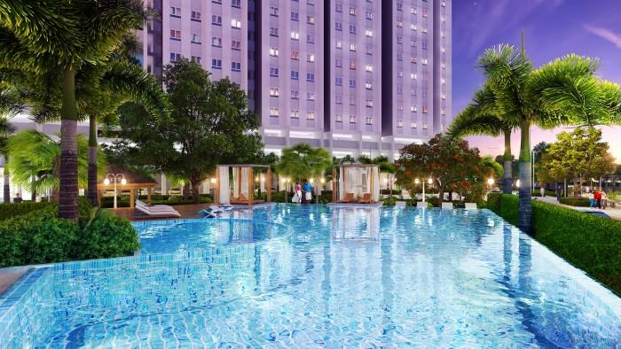 Bán căn hộ Quận 6, Mặt tiền Lý Chiêu Hoàng, KDC Bình Phú