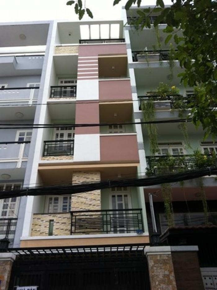 Bán nhà MT Cư Xá Đô Thành, Quận 3, DT: 6x14m, trệt, 4 lầu đúc đẹp