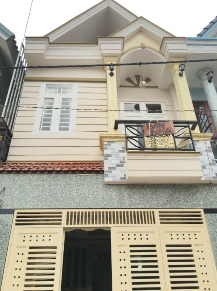 Bán nhà mặt tiền Hoàng Văn Thụ, P.8, Q. Phú Nhuận, DT 3.8x15m, trệt, 1 lầu.