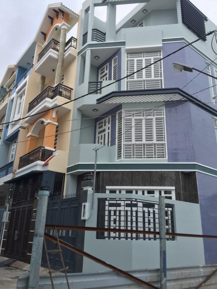 Cần bán nhà mới,sổ hồng riêng thiết kế đẹp 3 tấm đường 26 gần phạm văn đồng