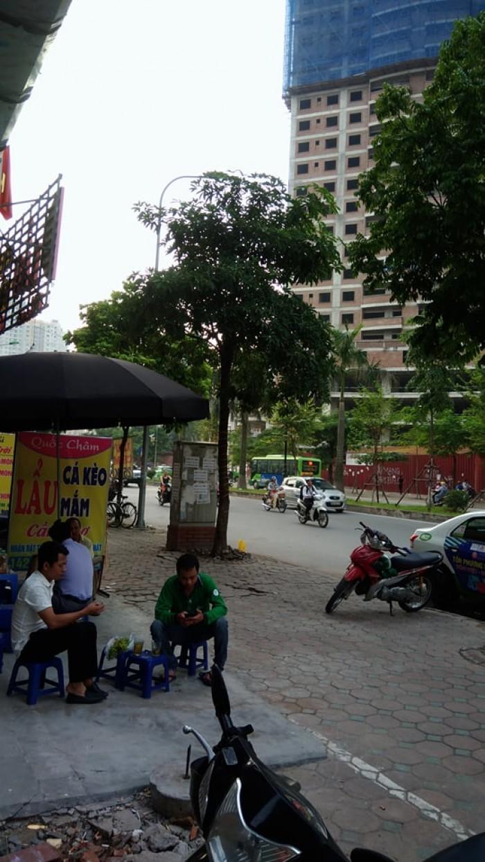 Bán nhà mặt đường Tân Mai Hoàng Mai Hà Nội , diện tích 80m2x 7 tầng