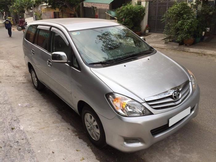 Cần bán Toyota Innova G 2010 số sàn lăn bánh 90.000 Km Xe nhà Sài kỹ Zin