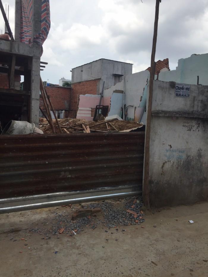 Bán nhà hẻm 5m Phan Văn Trị, P11,Bình Thạnh - DT: 8x22m nhà nát