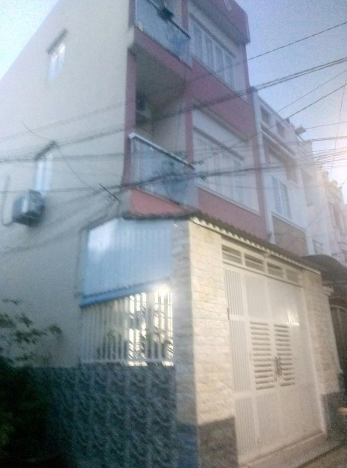 Bán Nhà hẻm 1 trục Nguyễn Du, phường 7, quận Gò Vấp, 4 x 11m, 1 Trệt + 2 Lầu, giá 3,5 tỷ