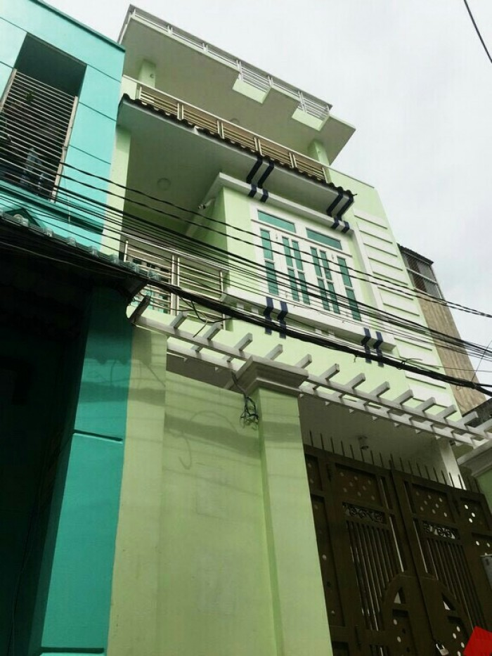 Bán Nhà Mặt Tiền Hẻm 487 Huỳnh Tấn Phát. Diện Tích 4,5x16m.