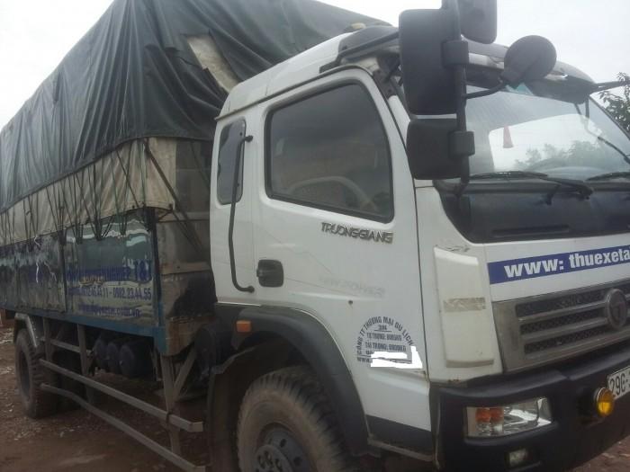 Công ty cần bán thanh lý xe tải Trường Giang dongfeng 6.8 tấn. Chính chủ tên công ty