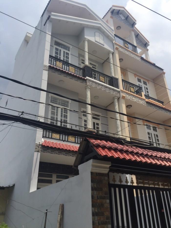Bán nhà đẹp mặt tiền hẻm xe hơi kinh doanh buôn bán, DT 4,5x16m,3 lầu,sân thượng.