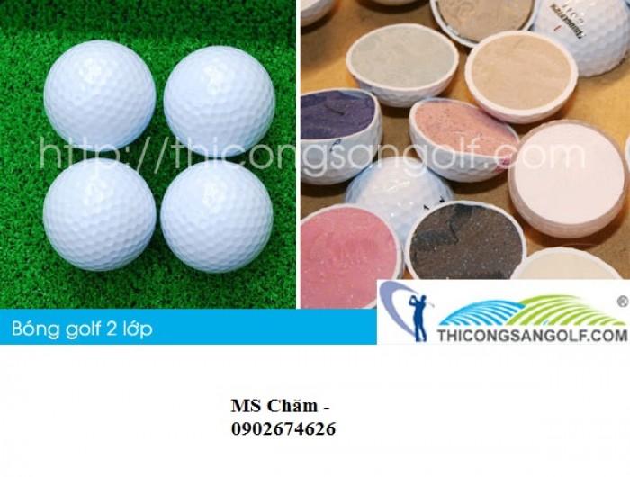 Bóng golf và thiết bị golf1