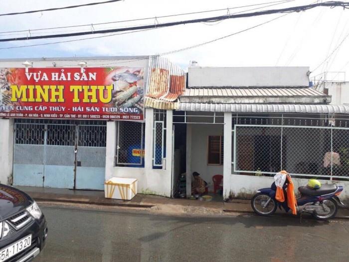 Bán Nền Mặt Tiền Sông Bờ Kè An Nghiệp Đ.Lê Anh Xuân 5,5X15M Thổ Cư