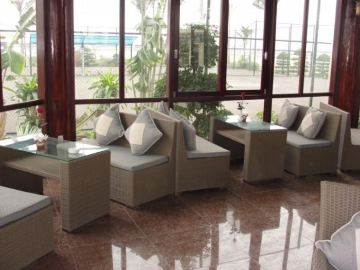 Sofa nhà hàng ,sofa góc ,sofa bộ , sản xuất thiết kế giường tắm nắng bàn ghế nhựa giả mây3