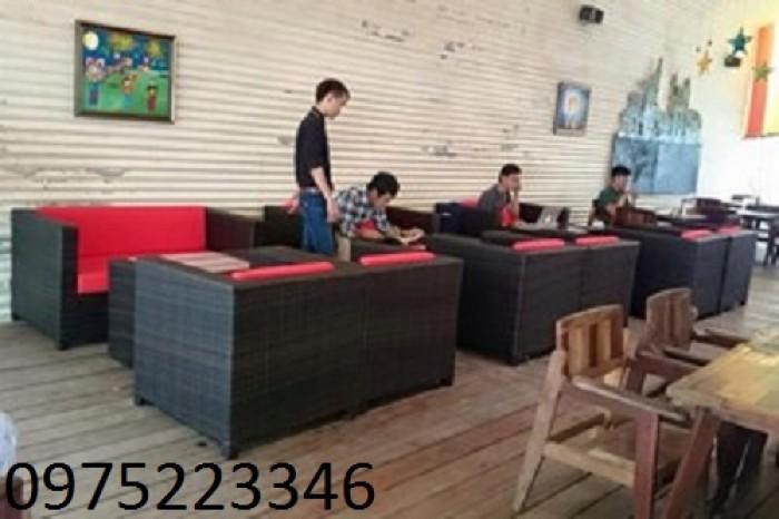 Sofa nhà hàng ,sofa góc ,sofa bộ , sản xuất thiết kế giường tắm nắng bàn ghế nhựa giả mây4