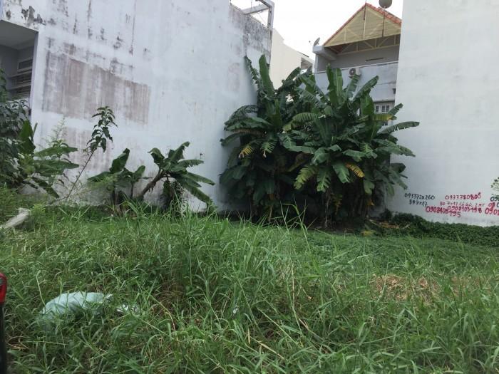 Bán nền đất biệt thự mặt tiền đường số 5 DA Phú Nhuận. HBC , Thủ Đức