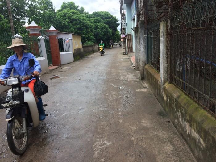 Bán nhà mặt đường An Đào dt73.6m2 mt 5.4m đường 6m hướng ĐB