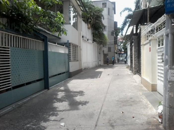 Nhà hẻm 8m Nguyễn Đình Chiểu, P.3, Q.3, DT 4.5 x 30, 2 Tầng (6PN)