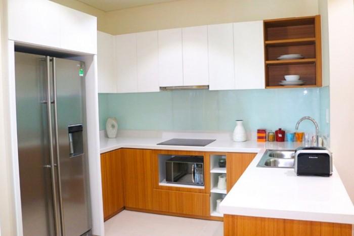 Hình ảnh gian bếp căn hộ mẫu của căn hộ 2 phòng ngủ