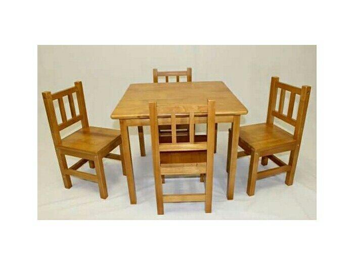 Bộ bàn ghế gỗ mini giá rẻ nhất1