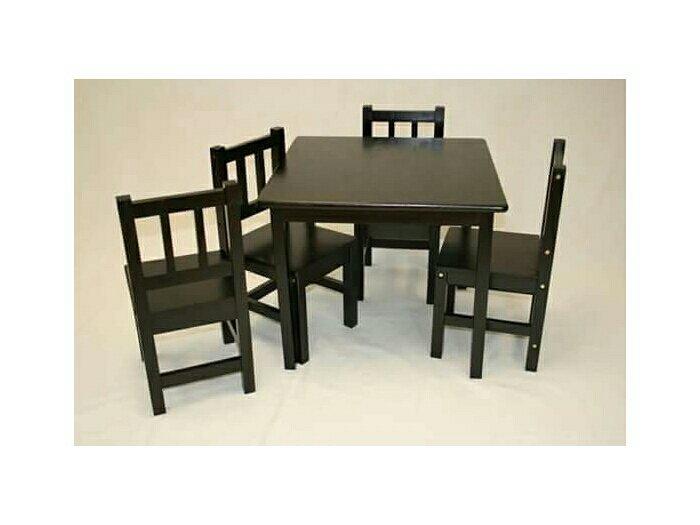 Bộ bàn ghế gỗ mini giá rẻ nhất2