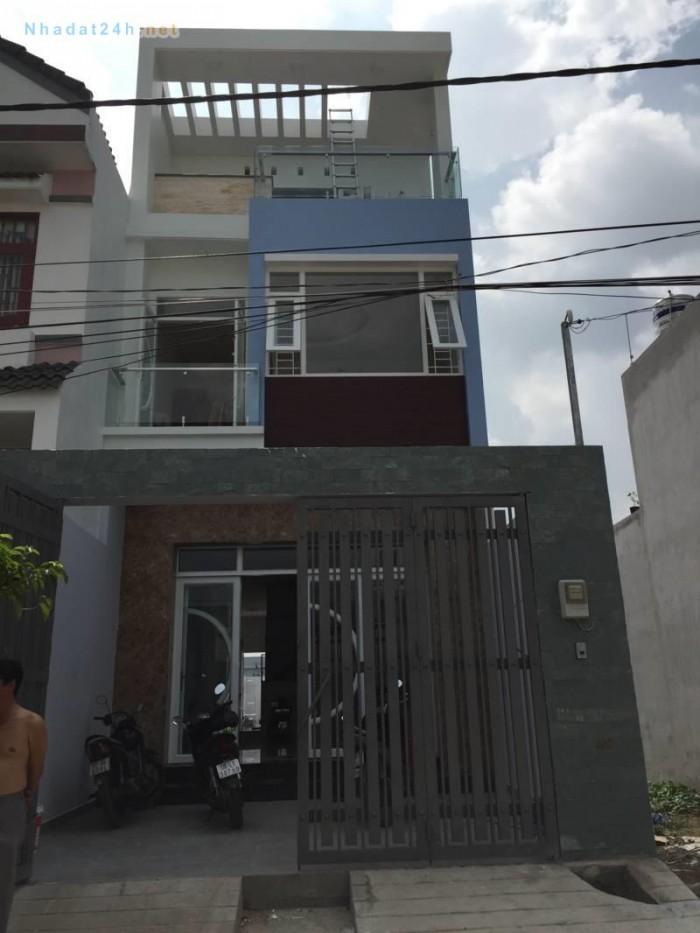 Bán nhà Lê Văn Thọ, gần đường lớn, chợ, ngân hàng, khu dân trí cao an ninh