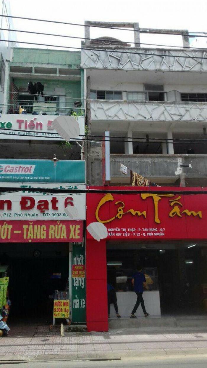 Bán nhà: Mặt tiền Đường Trần Huy Liệu, P12, Q.Phú Nhuận