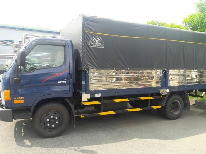 Giá xe tải Hyundai HD99 Đô Thành khuyến mãi - Hyundai HD99 6,5 tấn có xe giao ngay