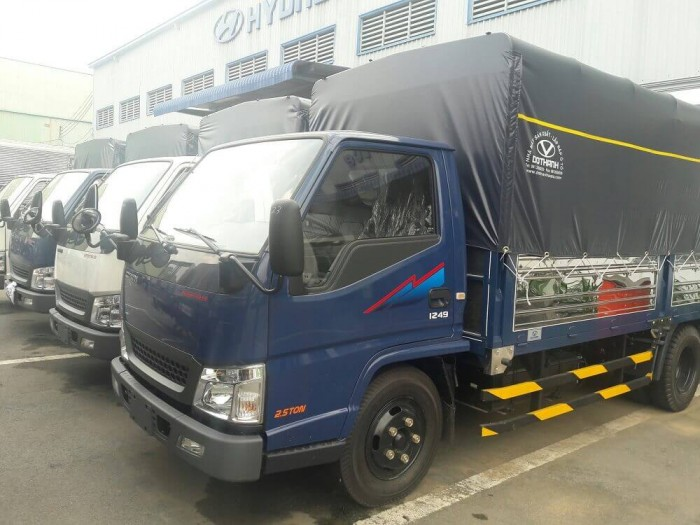 Xe tải IZ49. Xe Đô Thành IZ49 Khuyến Mãi, trả trước 50 triệu giao xe ngay 3