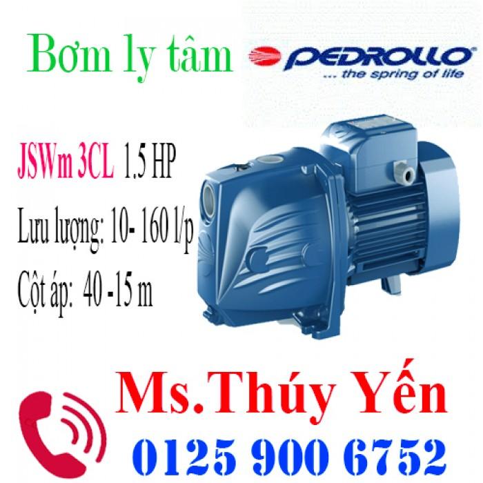 Máy bơm nước mini 220V gia đình hút sâu đẩy cao dân dụng Pedrollo JSWm 3CL 1.5HP
