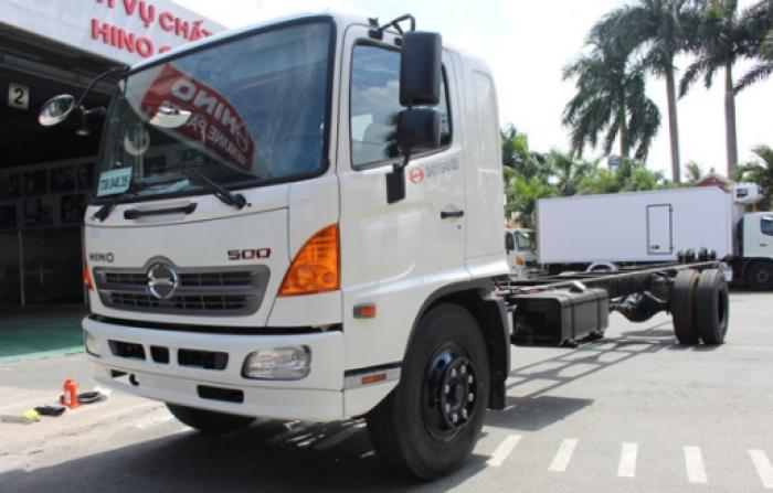 Xe tải Hino 8.5 tấn thùng lửng