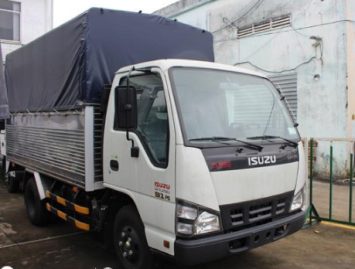Xe tải ISUZU 2.4 tấn thùng mui bạt 0