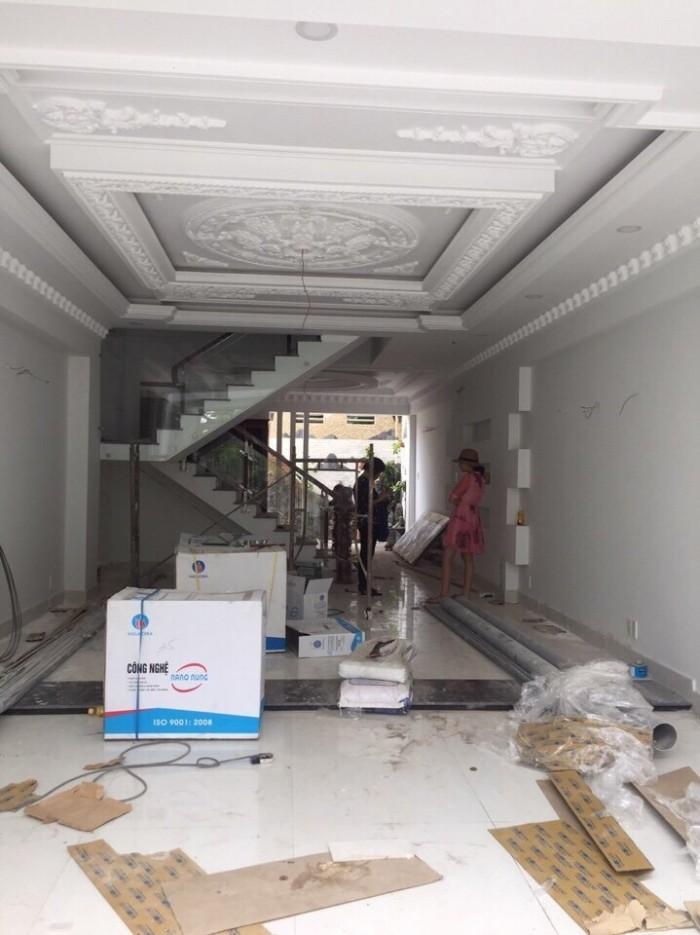Cần bán biệt thự phố mặt tiền đường 20 đường số Phạm Hữu Lầu, Q7, Dt 5x18,5m