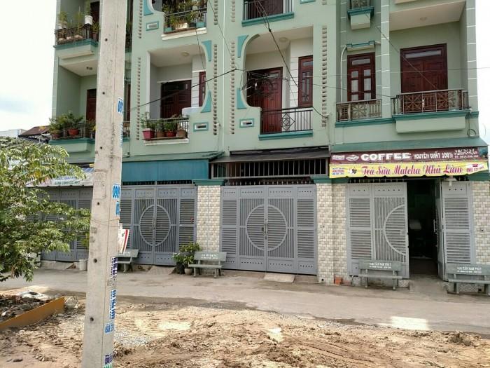Nhà 1 trệt 2 lầu tại đường Vĩnh Lộc-Võ Văn Vân