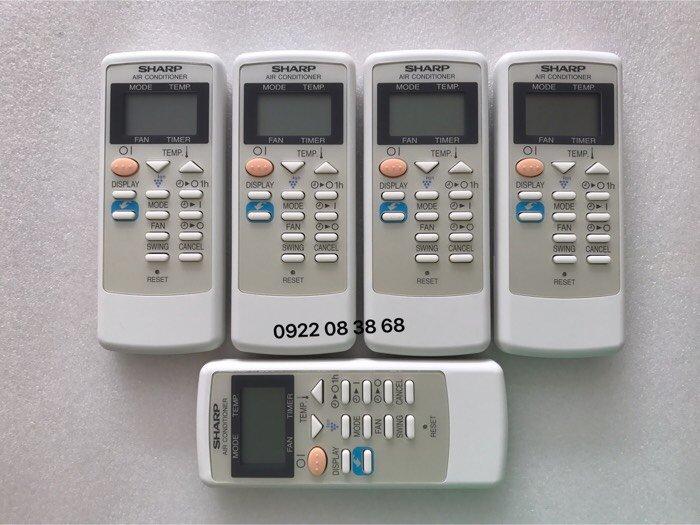 Remote Máy Lạnh SHARP, Hàng chính hãng, Mới 100%, Tặng kèm Pin 3A, Giá 270k