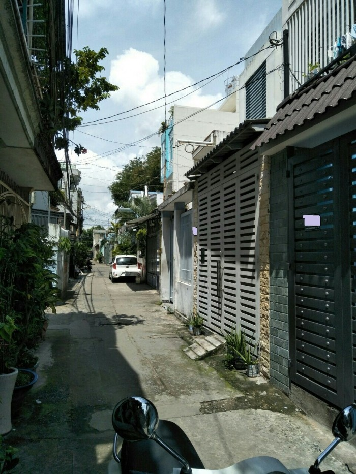 Bán Nhà 2 Mặt Tiền hẻm 972 Quang Trung, phường 8, quận Gò Vấp, 5,05 x 17m, 1 Trệt + 1 lửng, 3 Lầu, giá 4,4 tỷ