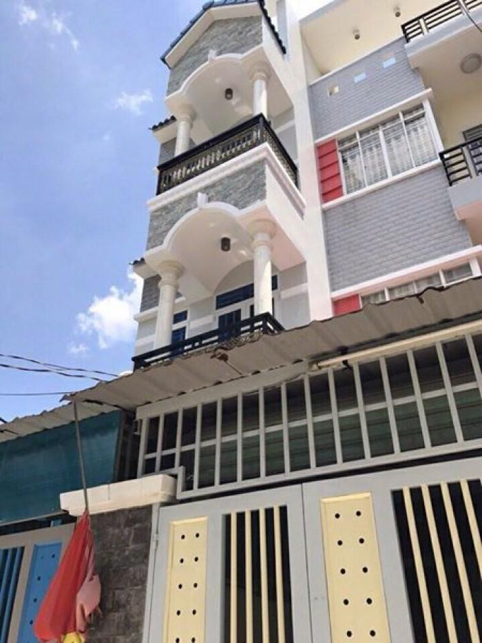 Bán Nhà MT Nguyễn Trãi. DT: 4x17.