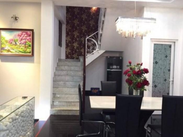 Nhà Mặt tiền Khu Kinh doanh Lê Văn Sỹ, Q.3, DT: 4.3x15m, xây 4 lầu đẹp