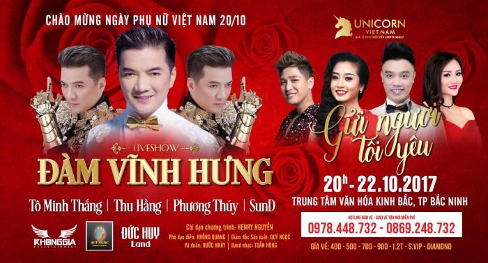 liveshow Đàm Vĩnh Hưng