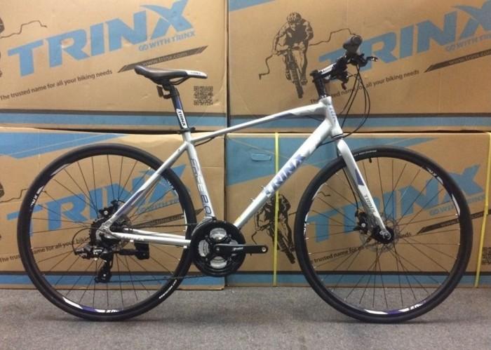 Xe đạp Trinx Free 2.0 2017, mới 100%, miễn phí giao hàng, màu Trắng ghi