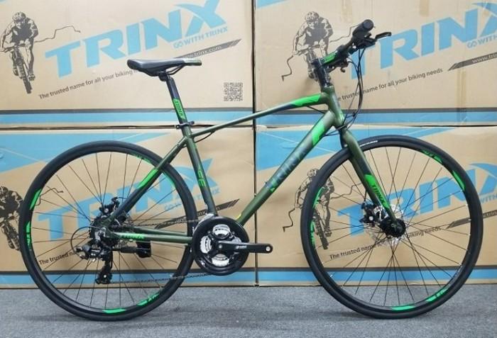 Xe đạp Trinx Free 2.0 2017, mới 100%, miễn phí giao hàng, màu Xanh lá