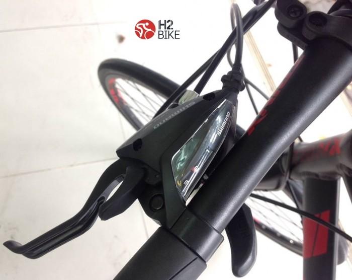 Tay đề: Shimano ST-EF500