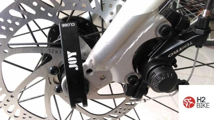 Phanh: Phanh đĩa cơ Tektro MD-M280 cực ăn