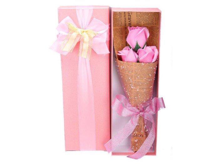 Hoa hồng sáp 3 bông I love you4
