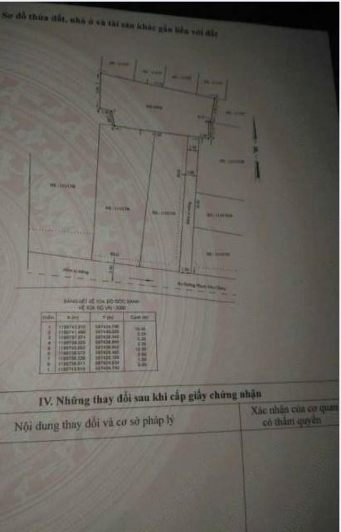 Bán Đất Thổ Cư Hẻm 111 Phạm Văn Chiêu, Phường 14, quận Gò Vấp, 6 x 15m