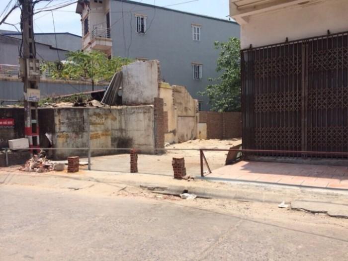 Đất 90m kinh doanh vỉa hè mặt phố mới trên đường Trương Định.