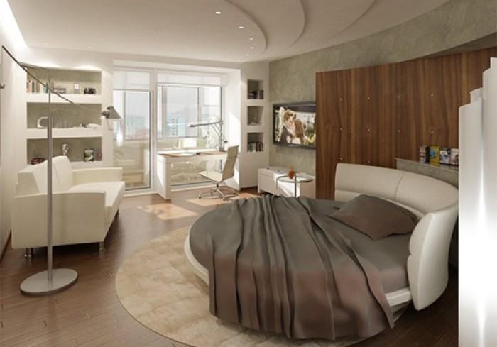 giường ngủ tròn cao cấp4