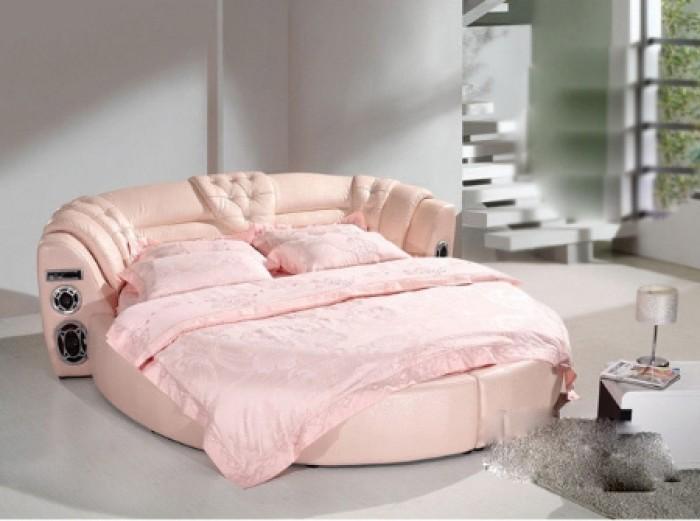 gường tròn bọc nệm giá rẻ6