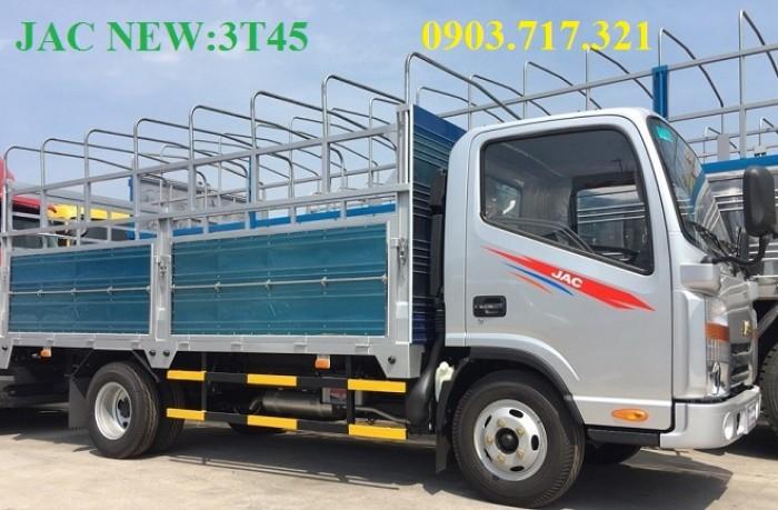 Xe tải Jac 3t45 đầu vuông máy cn Isuzu thùng 4.3m giá trả góp tốt nhất, giao xe ngay 2