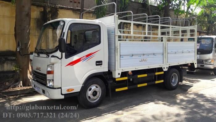 Xe tải Jac 3t45 đầu vuông máy cn Isuzu thùng 4.3m giá trả góp tốt nhất, giao xe ngay
