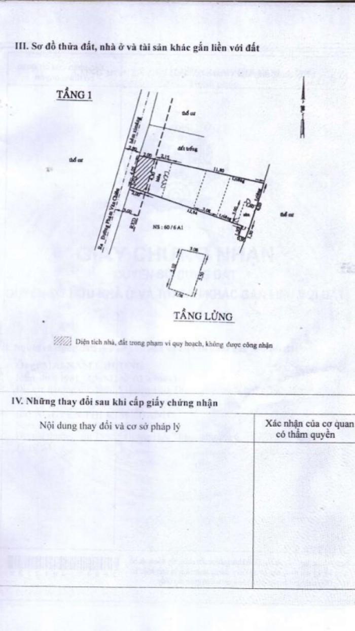 Bán Nhà hẻm 111 Phạm Văn Chiêu, Phường 14, quận Gò Vấp, 4 x 16m, Cấp 4, giá 2,75 tỷ